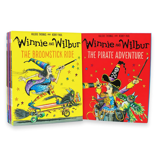 Winnie and Wilbur 픽쳐북 15종 세트 (Paperback) (CD 미포함)