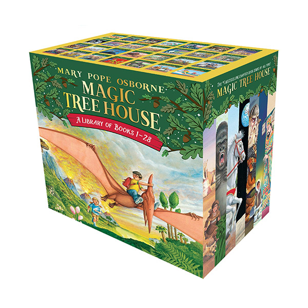 [베스트★] Magic tree House #01-28 챕터북 Box Set (Paperback, 28종)(CD미포함)