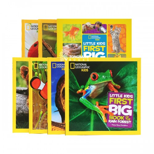 National Geographic Kids First Big Book 8종 B 세트 (Hardcover) (CD미포함)