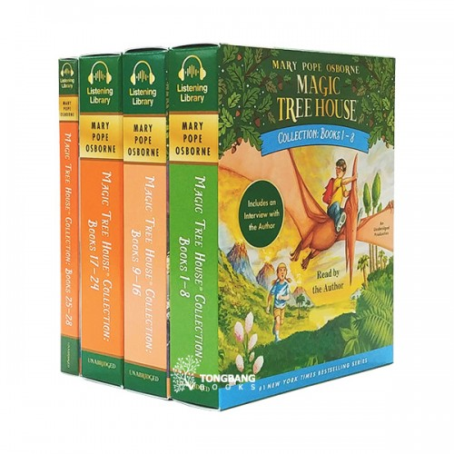 [공동구매] Magic tree House #1-28 Audio CD set (Only CDs)