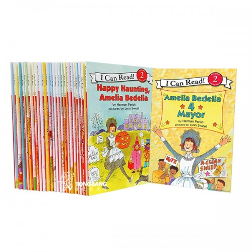 [베스트★] I Can Read Level 2 Amelia Bedelia 리더스북 26종 세트 (Paperback)(CD미포함)