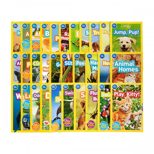 National Geographic Kids 리더스북 Pre레벨 27종 세트 (Paperback)