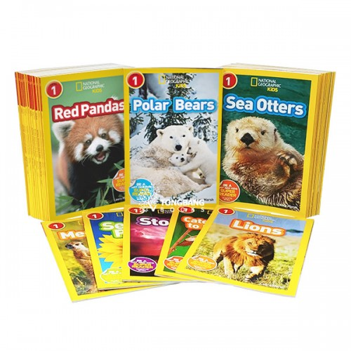 [베스트★] National Geographic Kids level 1 : 리더스 32종 세트 (Paperback) (CD미포함)