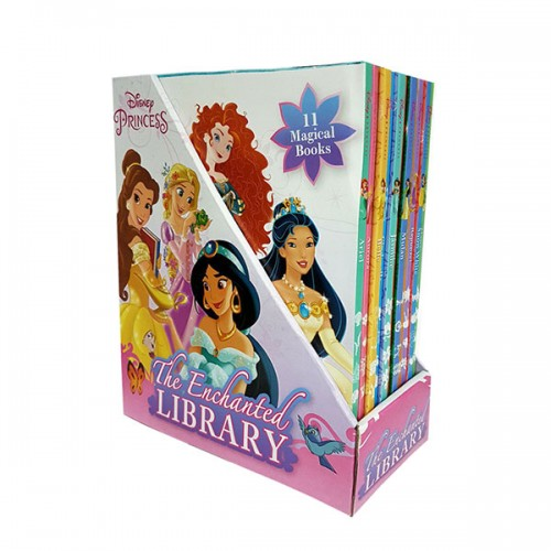 Disney Princess The Enchanted Library Slipcase 11종 Set (Hardcover, 영국판)