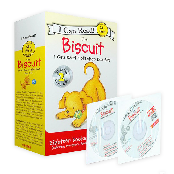 My First I Can Read : The Biscuit Collection 리더스 18종 &CD Box Set (Paperback, Audio CD 2장)