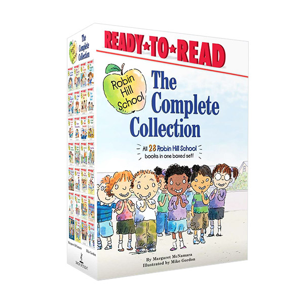 Ready to Read Level 1 : Robin Hill School The Complete Collection : 28종 Boxed Set (Paperback)(CD없음)