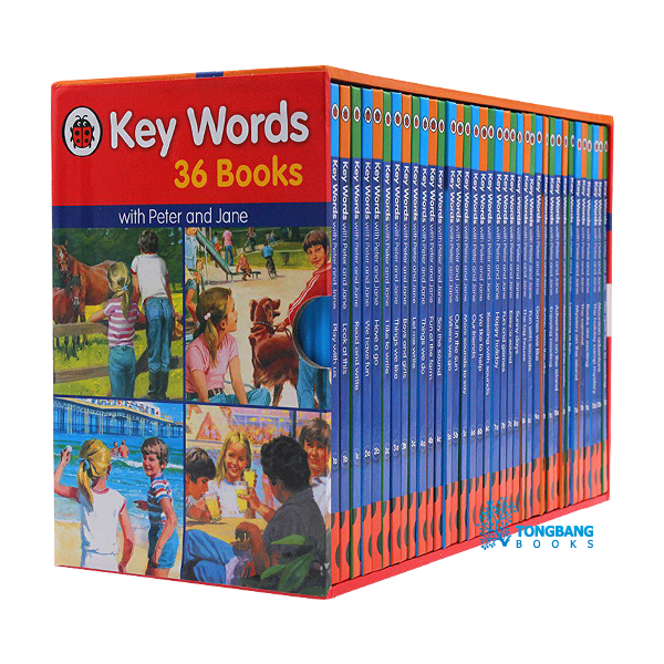 Ladybird Key Words Collection - 36 Books Box Set (Hardcover, 영국판)