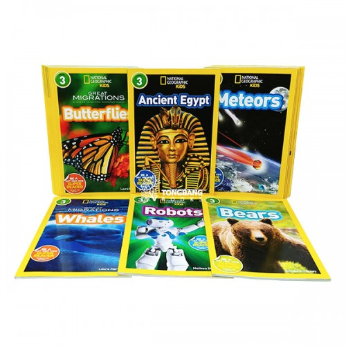 National Geographic Kids 리더스북 3단계 17종 세트 (Paperback)
