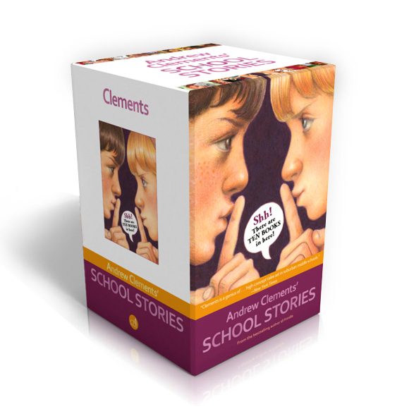 [베스트★] Andrew Clements' School Stories 10 Books Boxed Set (Paperback)(CD없음)
