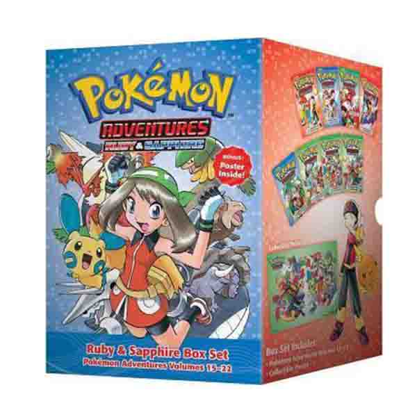 Pokemon Adventures Ruby & Sapphire Box Set (15-22권) (Paperback)