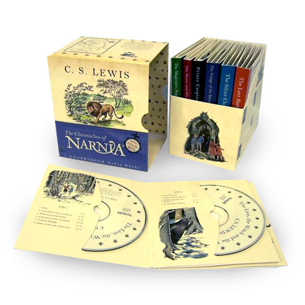 The Chronicles of Narnia Complete 1-7 Box Set (Audio CD, Unabridged)