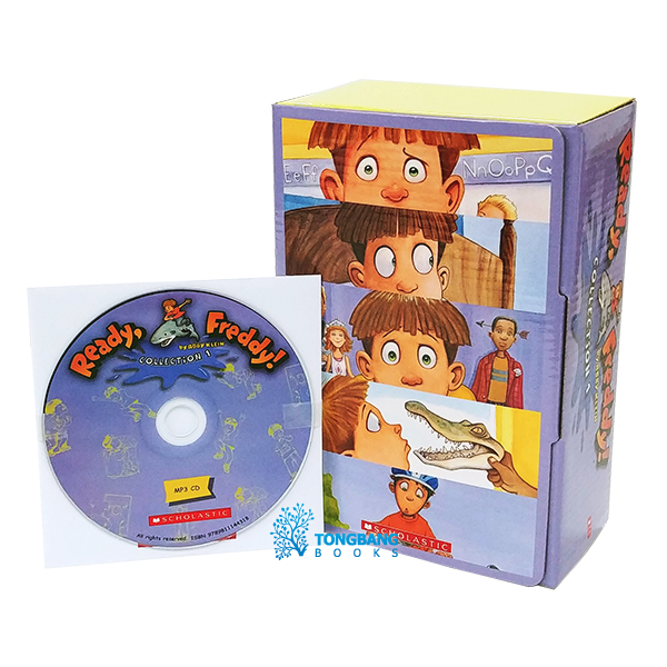 Ready, Freddy! : Collection 1 (10 books box set + MP3 CD 1장 )