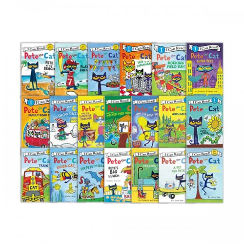 [베스트★] I Can Read My First : Pete the Cat 20종 세트 (Paperback) (CD없음)