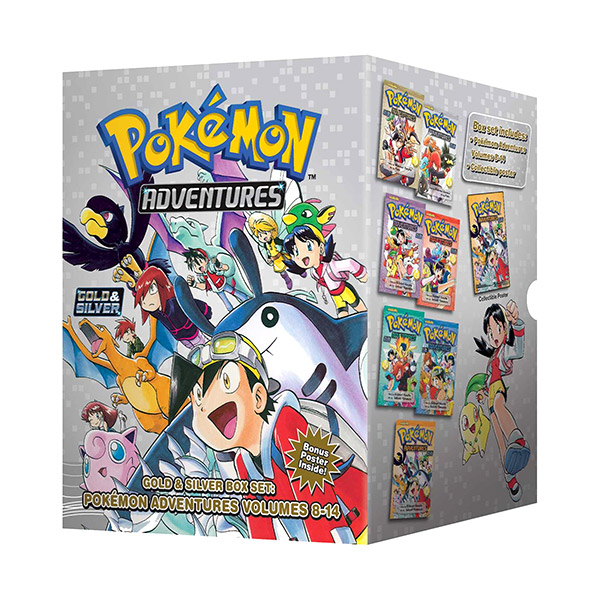 Pokemon Adventures Gold & Silver #8-14 Books Boxed Set (Paperback, 7종)