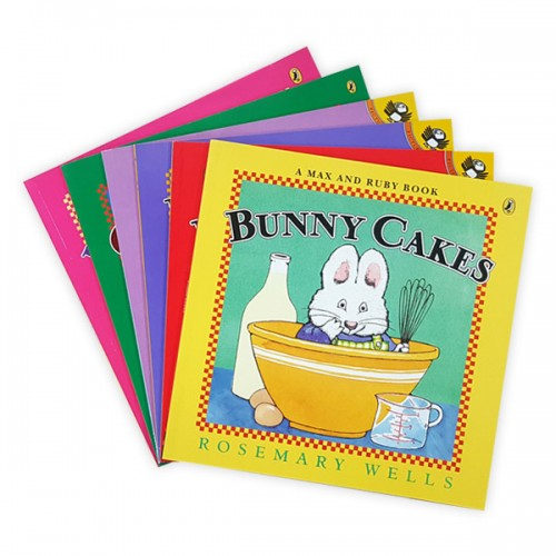Max and Ruby 픽쳐북 6종 세트 (Paperback)