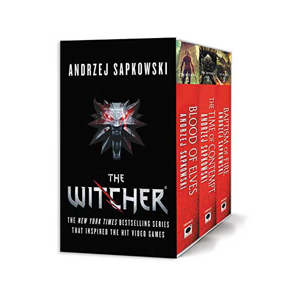 [넷플릭스] 더 위처 The Witcher #01-3 Books Boxed Set (Paperback)