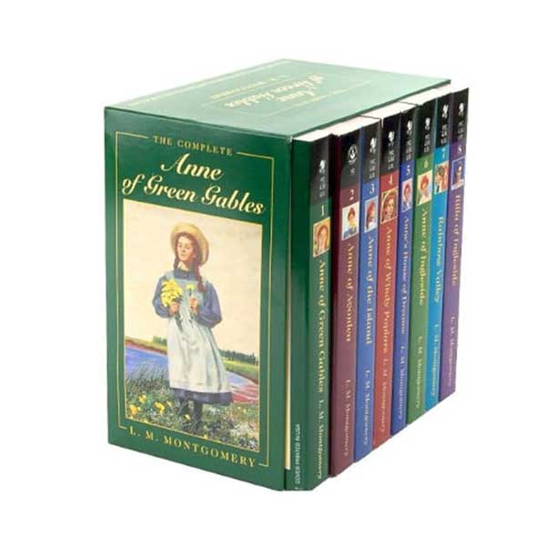 Anne of Green Gables The Complete #01-8 Books Boxed Set (Mass Market Paperback)(CD없음)