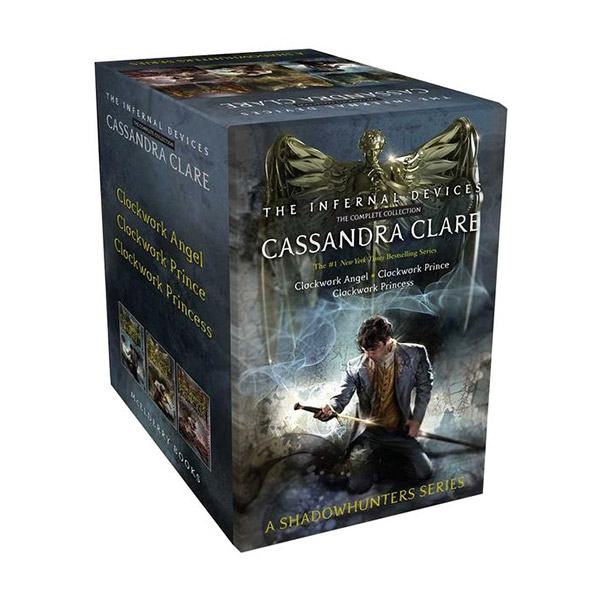 The Infernal Devices the Complete Collection #01-3 Books box Set (Paperback)(CD없음)