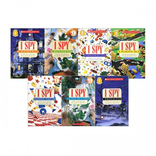 Scholastic Reader Level 1 : I SPY 리더스북 11종 세트 (Paperback) (CD미포함)