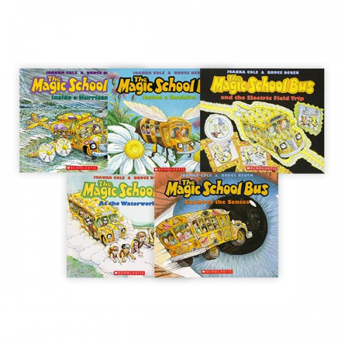 Magic School Bus Science 픽쳐리더스 5종 세트(Paperback) (CD없음)