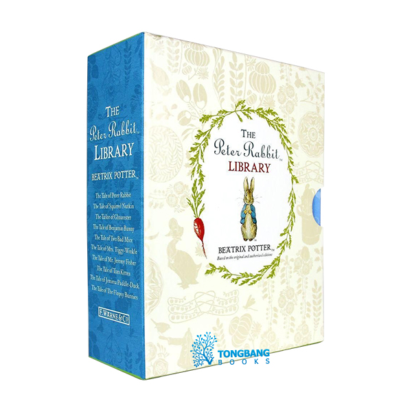 The Peter Rabbit Library - 10 Books Box Set Collection (Hardcover, 영국판)