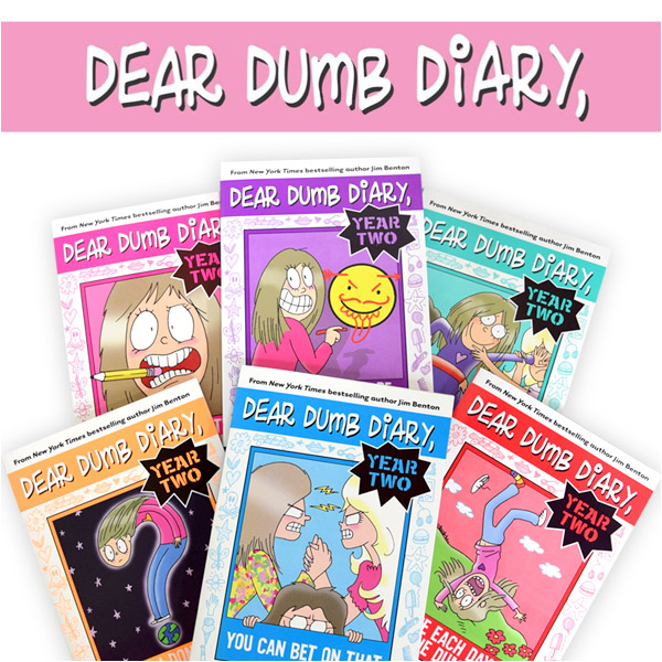 Dear Dumb Diary Year Two 챕터북 #1~6권 세트(Paperback)