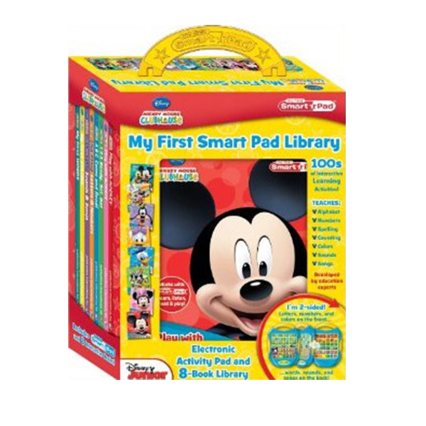 Mickey Mouse Clubhouse : My First Smart Pad Library (Hardcover)