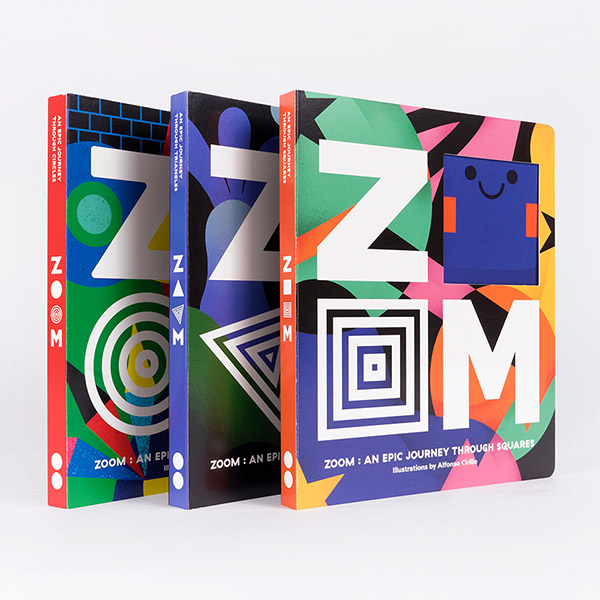 Zoom - An Epic Journey 시리즈 보드북 3종 세트 (Board Book, 영국판)