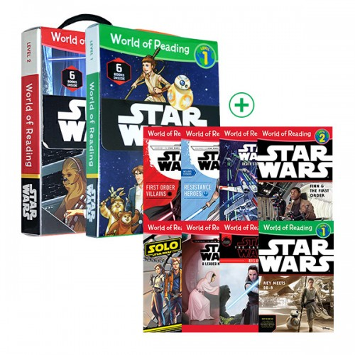 World of Reading Level 1, 2 : Star Wars 리더스북 21종 세트 (Paperback) (CD미포함)