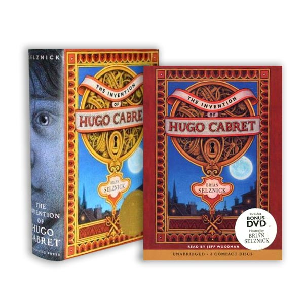 RL 5.1 : The Invention of Hugo Cabret (Book & CD) 세트