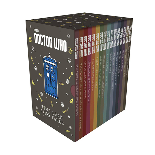 Doctor Who: Time Lord Fairy Tales Slipcase Edition 16종 Box Set (Hardcover, 영국판)(CD없음)