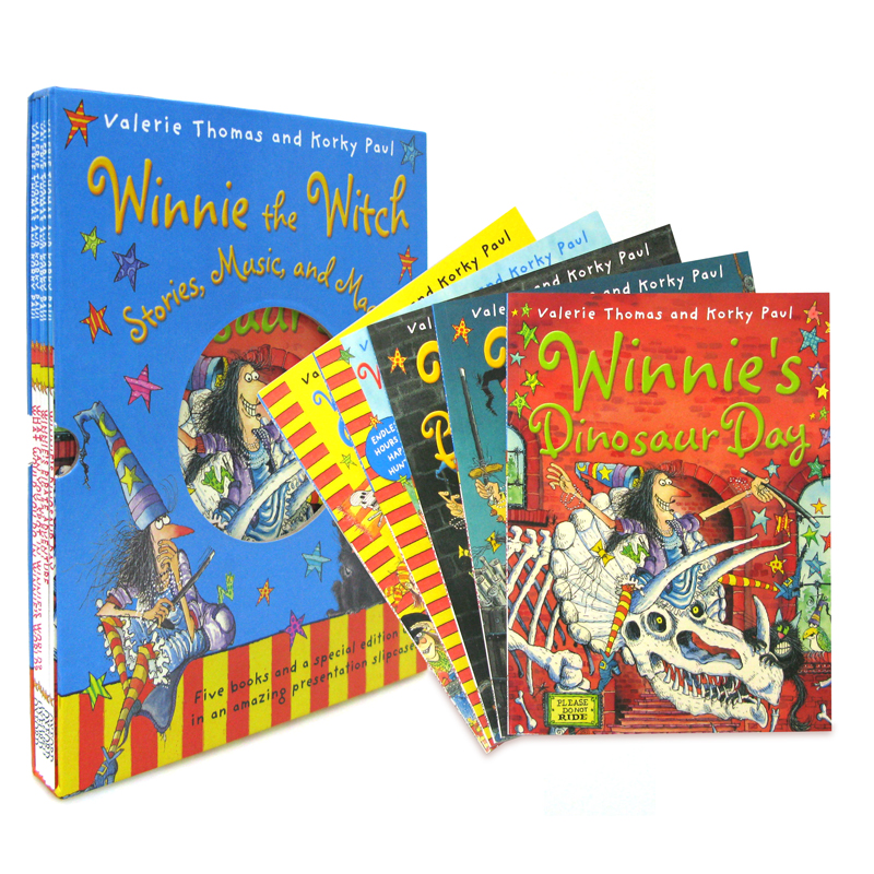 [마녀위니 리더스북 3집] Winnie the Witch: Stories, Music, and Magic! Box Set (Paperback+CD, 5종, 영국판)