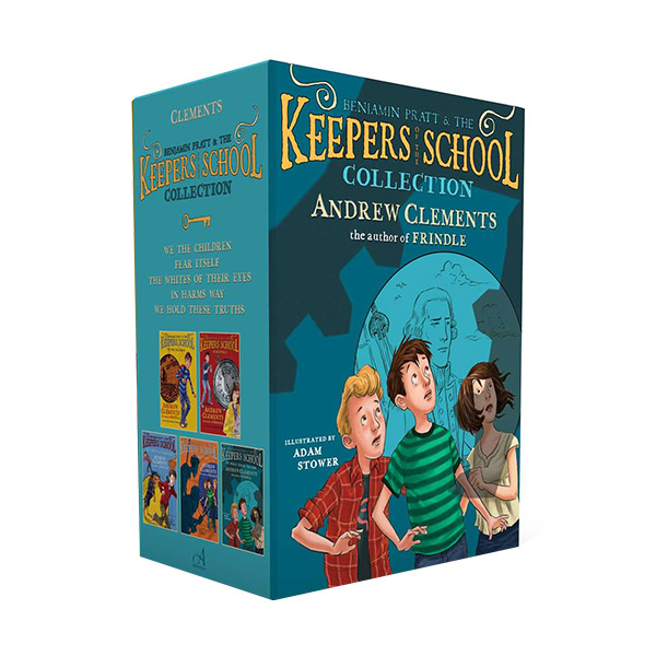 Benjamin Pratt & the Keepers of the School Collection #01-5 챕터북 Box Set (Paperback)(CD없음)