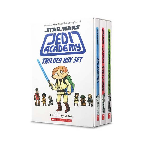 Star Wars : Jedi Academy #01-3 코믹스 Trilogy Box Set (Paperback)(CD없음)