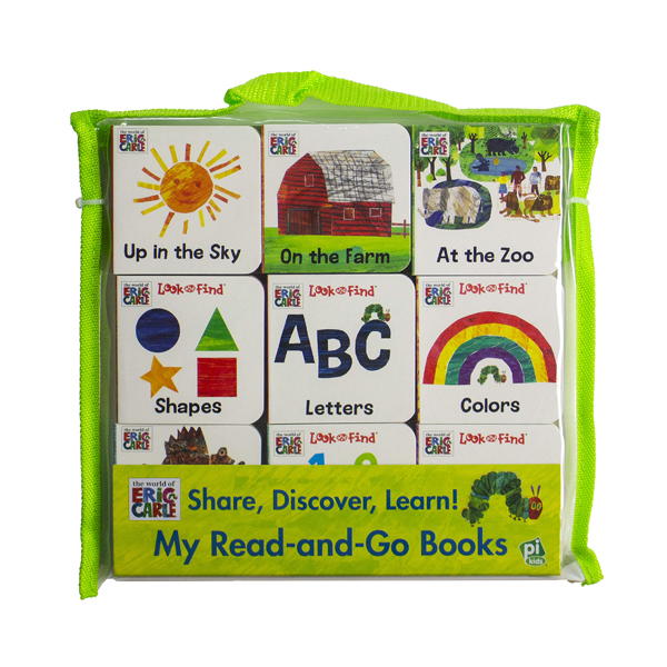 World of Eric Carle :  My First Library Board Book Block 9-Book (Board book)