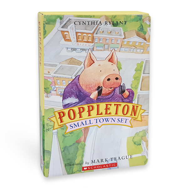 Poppleton : Small Town Box Set (Paperback 5권 & CD 1장)