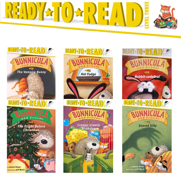 Ready to Read 3 : Bunnicula and Friends 리더스북 6종 세트 (Paperback)