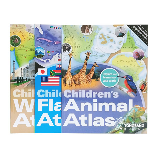 Children's Atlas Collection - 3 Books Set (Paperback, 영국판)