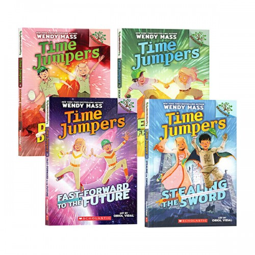 Time Jumpers #01-4 챕터북 세트 : A Branches Book (Paperback)(CD없음)