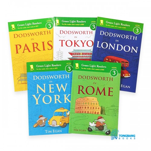 Green Light Readers Level 3 : Dodsworth in City 리더스 5종 세트 (Paperback)(CD없음)