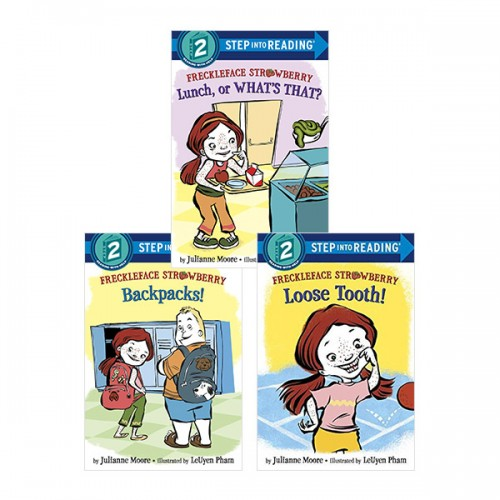 [Step into Reading Step 2] Freckleface Strawberry 리더스북 3종 세트 (Paperback) (CD없음)