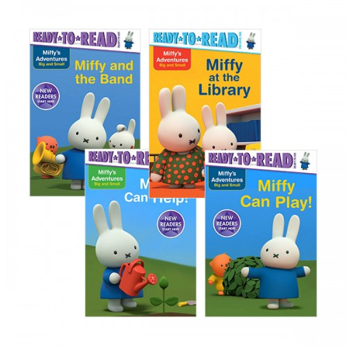 Ready to Read : Miffy's Adventures Big and Small 리더스 5종 세트 (Paperback)(CD미포함)