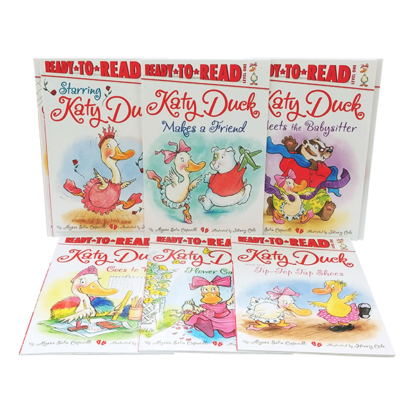 Ready to Read 1 : Katy Duck 리더스 8종 세트 (Paperback)(CD미포함)