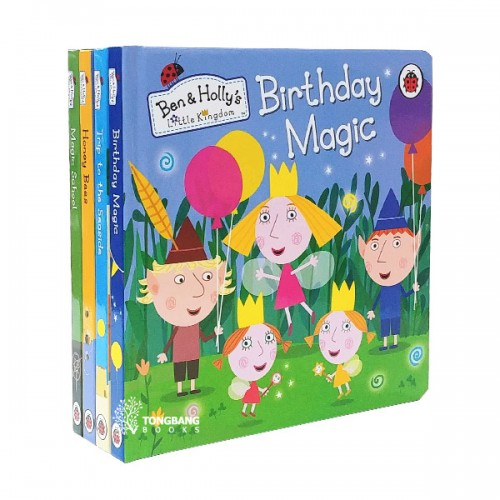 Ben and Holly's Little Kingdom 보드북 6종 세트 (Board book, 영국판)