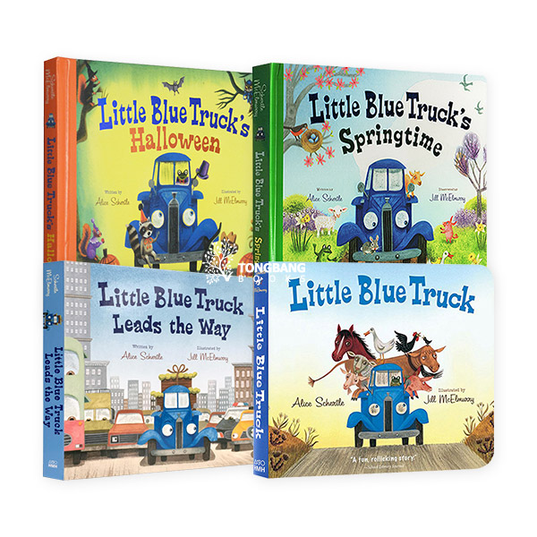 Little Blue Truck 보드북 4종 세트 (Board Book)