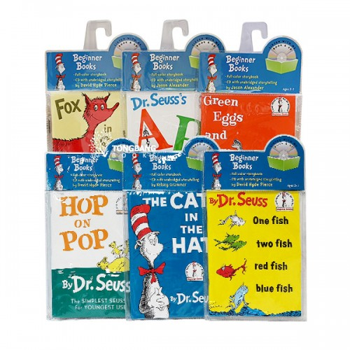 Dr. Seuss Readers Book & CD 6종 세트 (Paperback)