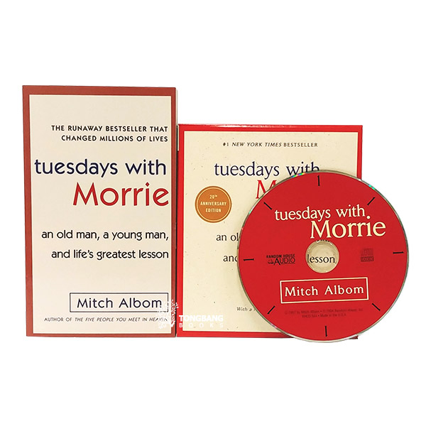 Tuesdays with Morrie Book & CD 세트 (Paperback & CD)