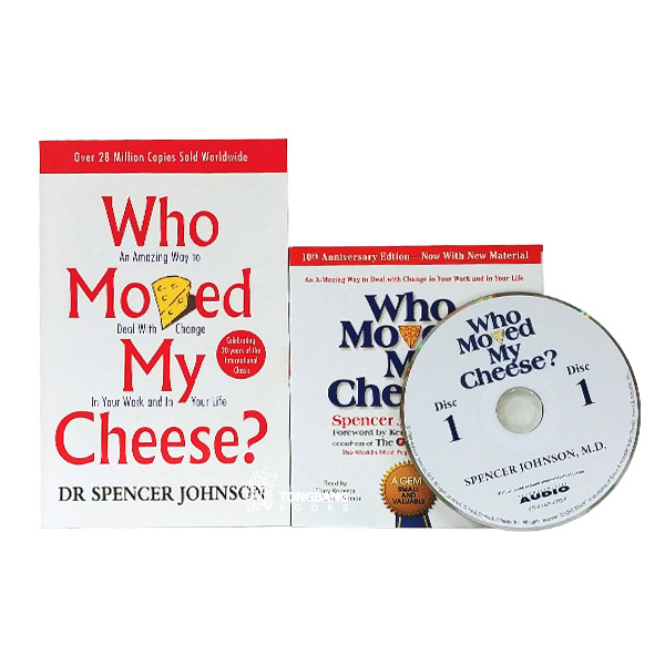 Who Moved My Cheese Book & CD 세트 (Paperback+CD)
