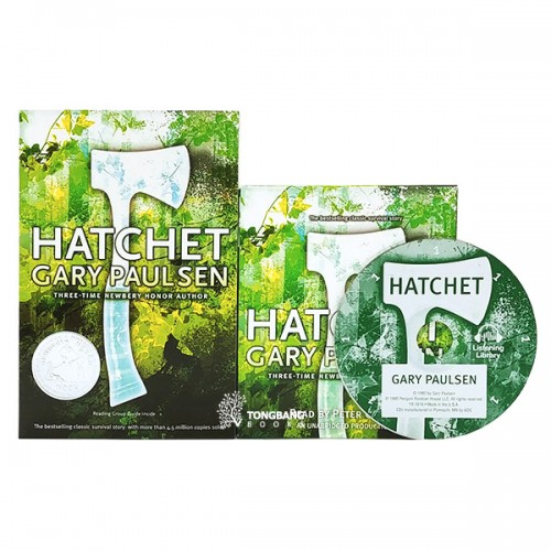 RL 5.7 : 손도끼 Hatchet Book & CD 세트 (Book & CD, Newbery)
