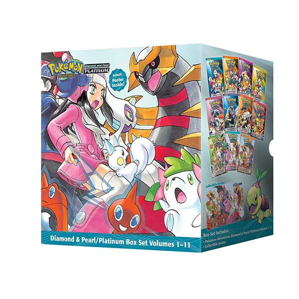 Pokemon Adventures Diamond & Pearl : Platinum #1-11 Books Boxed Set (Paperback, 11종)